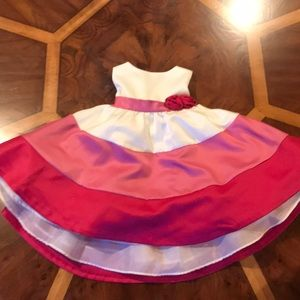Other - 12 month girl dress with tulle skirt